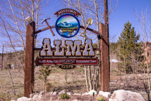Alma, Colorado - highest incorporated town in North America