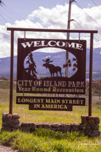 Island Park, Idaho - Longest Main Street in America