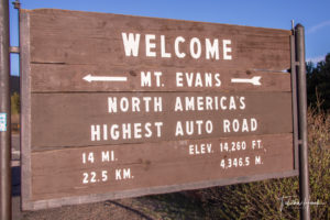 Mount Evans Scenic Byway - Highest Paved Road in America