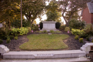 President James Buchanan Grave