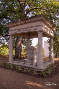President James K. Polk Grave