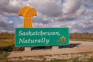 Saskatchewan Province Sign