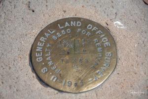 Texas - Oklahoma - New Mexico Tristate Marker
