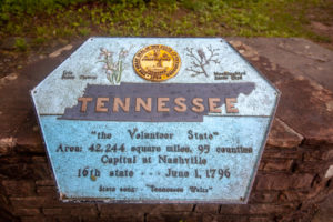 Kentucky -Tennessee - Virginia Tristate Marker