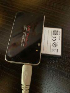 CF in Memory Card Reader