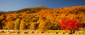 Mt. Washington in New Hampshire in Fall